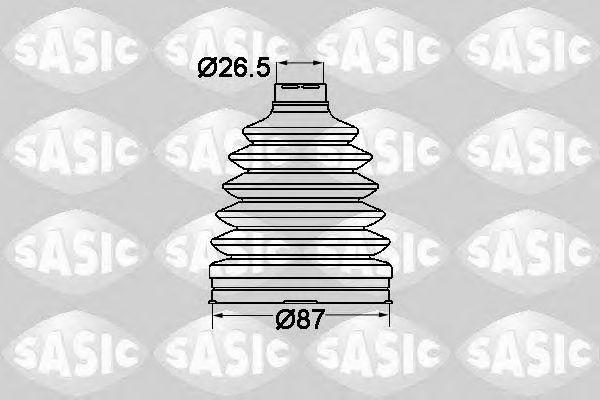 Комплект пыльника ШРУСа SASIC 1904020