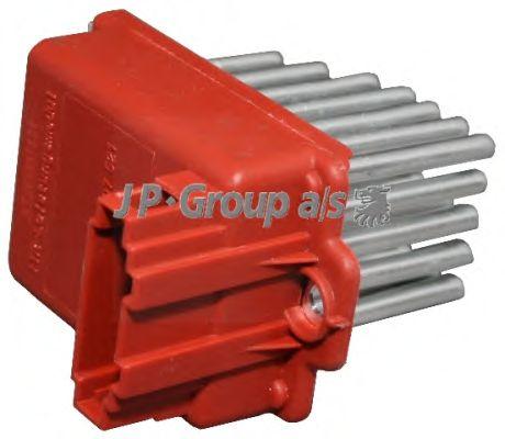 Реостат вентилятора отопителя JP GROUP 1196850500
