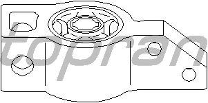 Сайлентблок рычага TOPRAN 111 020