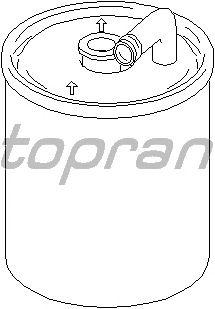 Топливный фильтр TOPRAN 407 885
