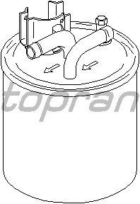 Топливный фильтр TOPRAN 113 255