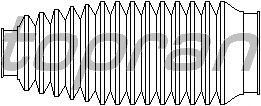 Пыльник рулевой рейки TOPRAN 109 441
