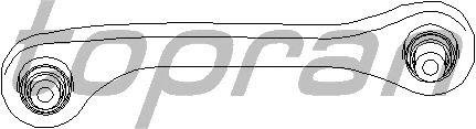 Рулевая тяга TOPRAN 110 273