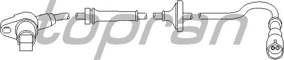 Датчик вращения колеса TOPRAN 111 074