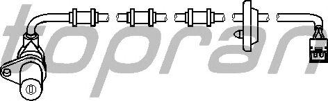 Датчик вращения колеса TOPRAN 401 413