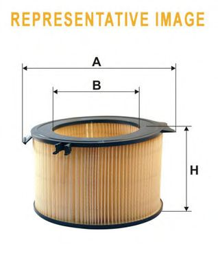 Воздушный фильтр WIX FILTERS WA9511