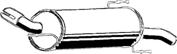 Глушитель ASMET 05.132