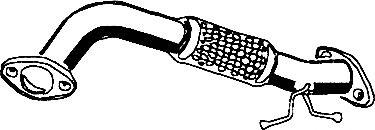 Труба выхлопного газа ASMET 07.211