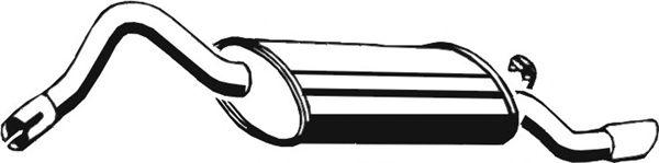 Глушитель ASMET 21.012