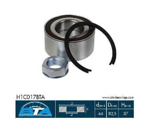 Ступичный подшипник BTA H1C017BTA