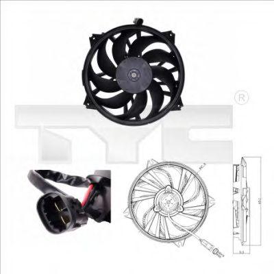 Вентилятор охлаждения TYC 805-0006