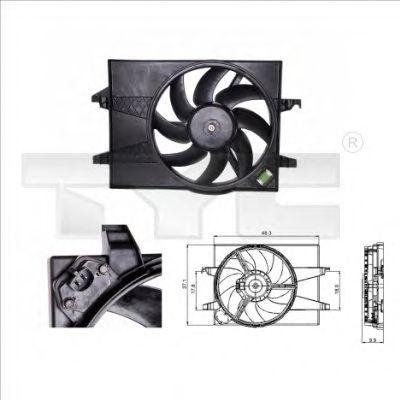 Вентилятор охлаждения TYC 810-0025