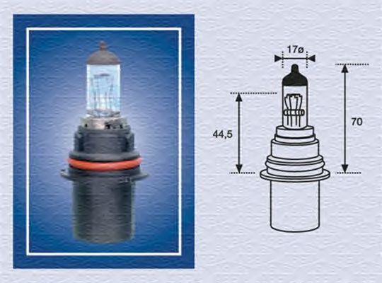 Лампа накаливания MAGNETI MARELLI 002555200000 (фара дальнего света, основная фара)