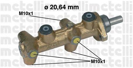 Главный тормозной цилиндр METELLI 05-0040