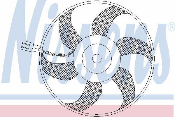 Вентилятор кондиционера NISSENS 85403