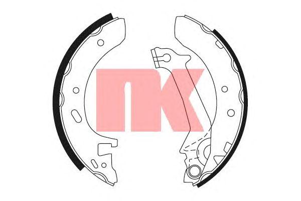Тормозные колодки NK 2725574