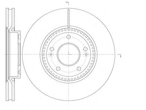Тормозной диск REMSA 6988.10