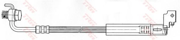 Тормозной шланг TRW PHD495