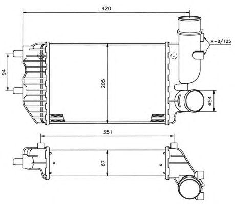 Интеркулер NRF 30066A