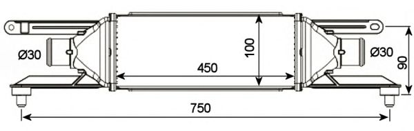 Интеркулер NRF 30751