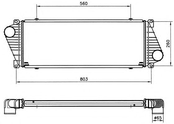 Интеркулер NRF 30830
