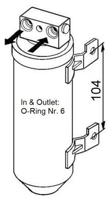 Осушитель кондиционера NRF 33053