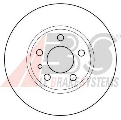 Тормозной диск A.B.S. 15952