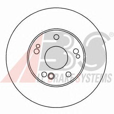 Тормозной диск A.B.S. 16110
