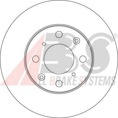 Тормозной диск A.B.S. 16117