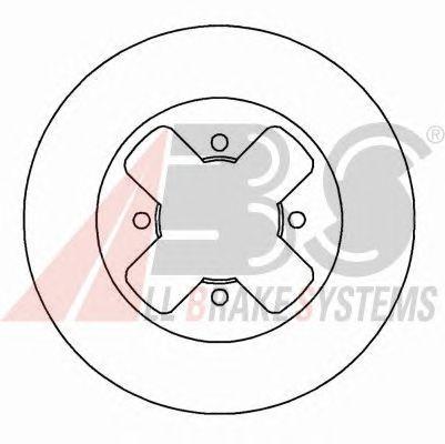 Тормозной диск A.B.S. 16165