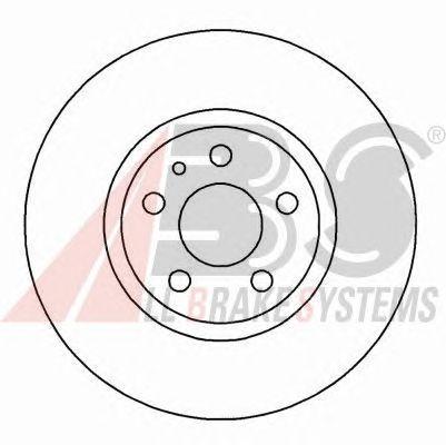 Тормозной диск A.B.S. 16200