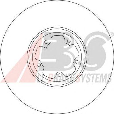 Тормозной диск A.B.S. 17115
