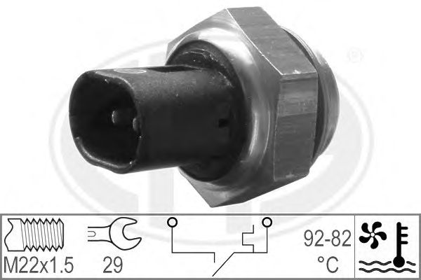 Датчик включения вентилятора ERA 330181