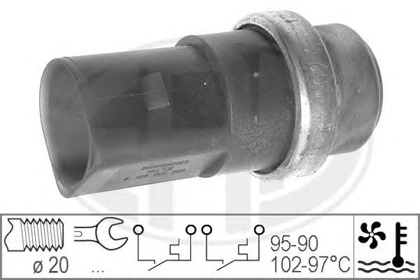 Датчик включения вентилятора ERA 330231