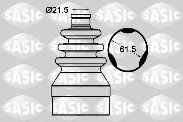 Комплект пыльника ШРУСа SASIC 1904015