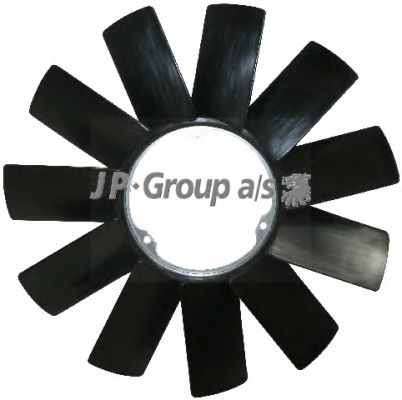 Крыльчатка вентилятора охлаждения JP GROUP 1414900800