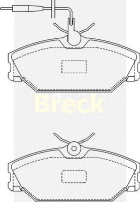 Тормозные колодки BRECK 21388 00 702 10