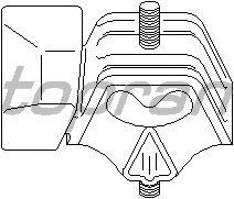 Подушка двигателя TOPRAN 104 282