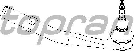 Наконечник рулевой тяги TOPRAN 501 767