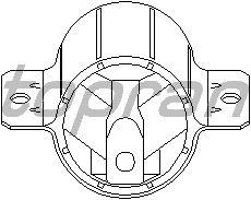 Подушка КПП TOPRAN 110 982
