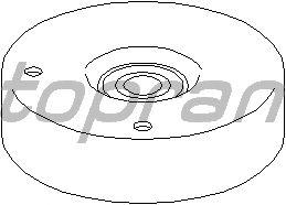Натяжной ролик поликлинового ремня TOPRAN 400 005