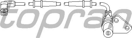Датчик вращения колеса TOPRAN 401 412