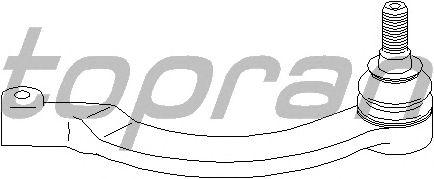 Наконечник рулевой тяги TOPRAN 207 101