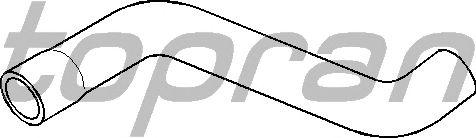 Шланг радиатора TOPRAN 205 718