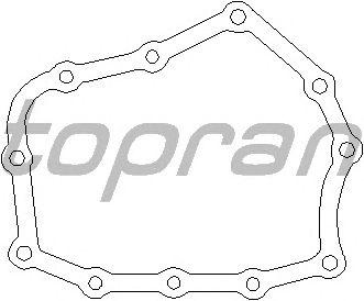 Прокладка, ступенчатая коробка TOPRAN 201 538