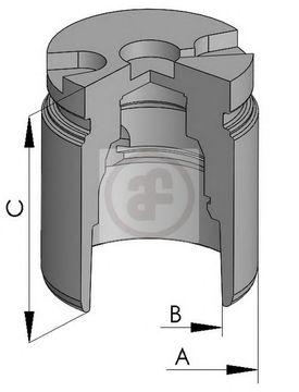 Поршень тормозного суппорта AUTOFREN SEINSA D025238