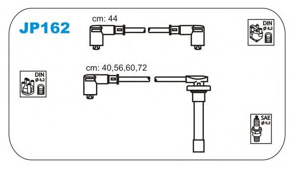 Комплект высоковольтных проводов JANMOR JP162