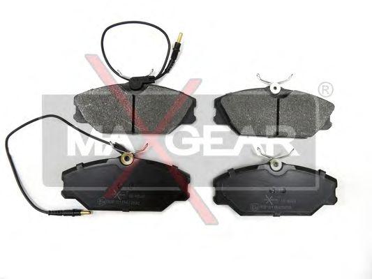 Тормозные колодки MAXGEAR 19-0548