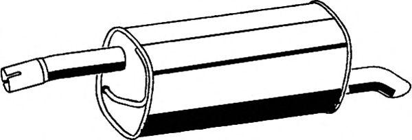 Глушитель ASMET 07.180