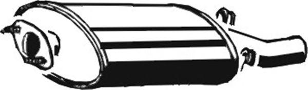 Глушитель ASMET 23.012